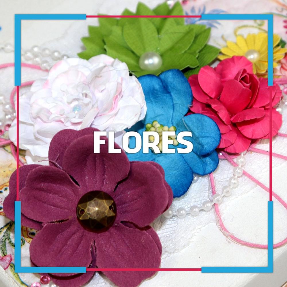 Flores para Artesanatos e Lembrancinhas