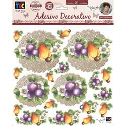 Adesivo Decorativo By Mamiko 19798 (TDM04) - Frutas