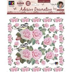 Adesivo Decorativo By Mamiko 19801 (TDM07) - Rosas