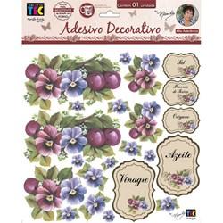 Adesivo Decorativo By Mamiko 19804 (TDM10) - Amor Perfeito