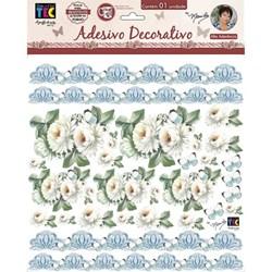 Adesivo Decorativo By Mamiko 20649 (TDM23) - Crisantemos Branco