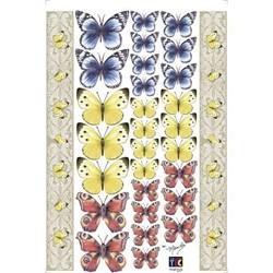 Adesivo Decorativo By Mamiko 21044 (TDM25) - Borboleta