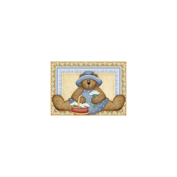 Adesivo Fabi AD173 Ursa Azul
