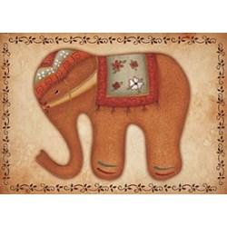 Adesivo Fabi AD79 Elefante Ocre