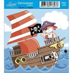 Adesivo Litoarte DAX-035 Pirata