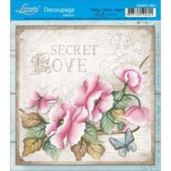 Adesivo Litoarte Lili Negrão DAXV1-001 Secret Love