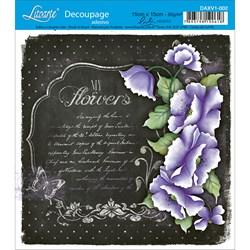 Adesivo Litoarte Lili Negrão DAXV1-002 My Flowers