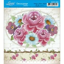 Adesivo Litoarte Lili Negrão DAXV1-003 Flores