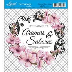 Adesivo Litoarte Lili Negrão DAXV1-004 Aromas e Sabores