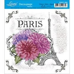 Adesivo Litoarte Lili Negrão DAXV1-008 Flores Paris