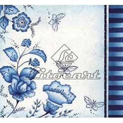 Adesivo para Decoupage Litocart LAQ-66 Flores