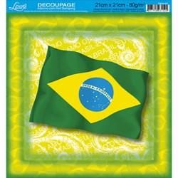 Adesivo Quadrado com Hot Stamping DAQH-031