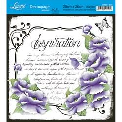 Adesivo Quadrado Lili Negrão 20x20cm DA201-010 Inspiration
