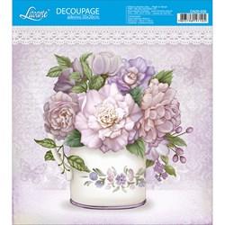 Adesivo Quadrado Litoarte 20x20cm DA20-030 Vaso de Flores
