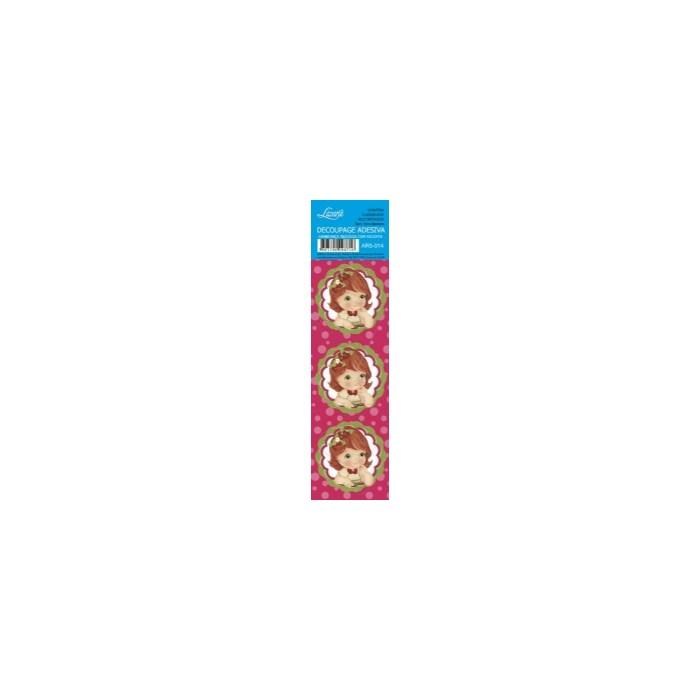 Adesivo Redondo Para Lembrança AR5-014 Morango