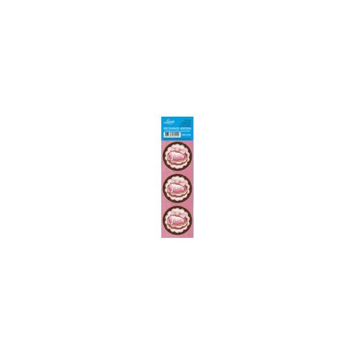Adesivo Redondo Para Lembrança AR5-050 Cupcake