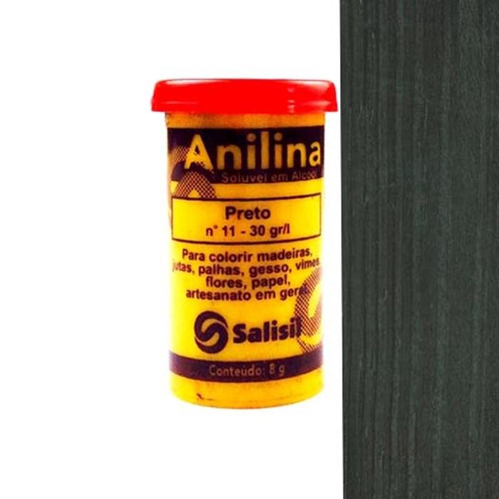 Anilina em Pó Salisil 8gr - 11 Preto