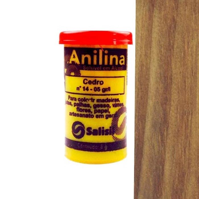 Anilina em Pó Salisil 8gr - 14 Cedro