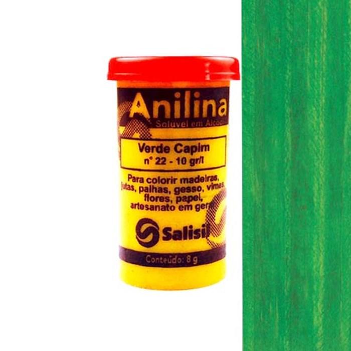 Anilina em Pó Salisil 8gr - 22 Verde Capim