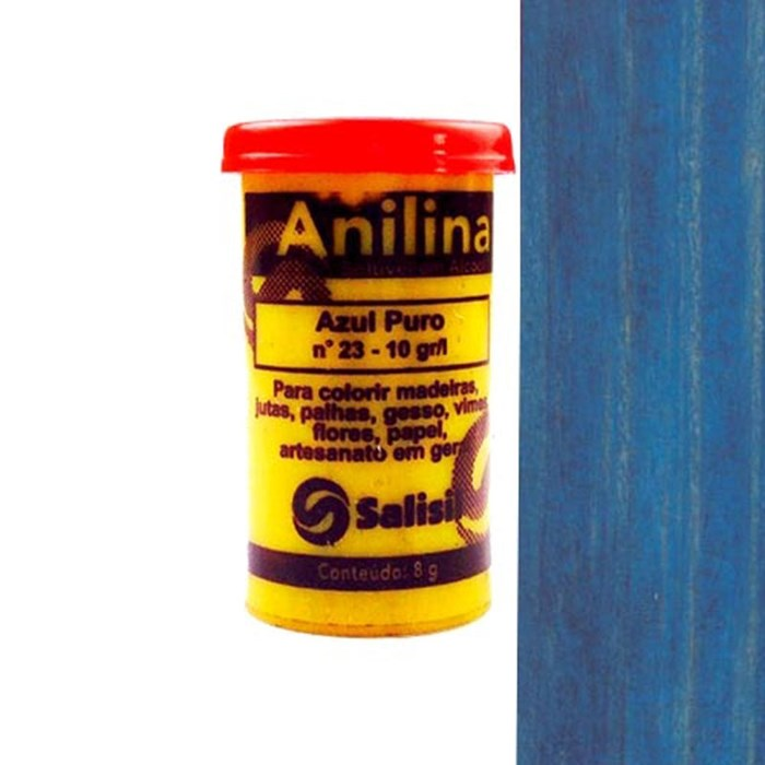 Anilina em Pó Salisil 8gr - 23 Azul Puro
