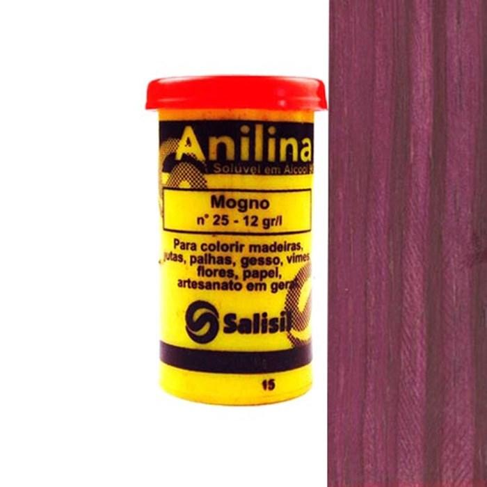 Anilina em Pó Salisil 8gr - 25 Mogno