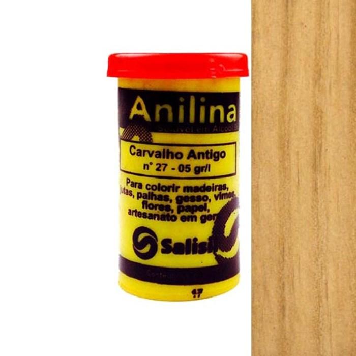 Anilina em Pó Salisil 8gr - 27 Carvalho Antigo