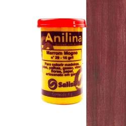 Anilina em Pó Salisil 8gr - 29 Marrom Mogno