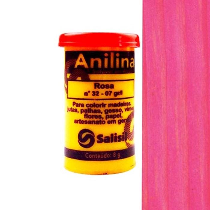 Anilina em Pó Salisil 8gr - 32 Rosa