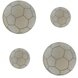 Aplique Chipboard 480 Bola de Futebol - 4 unidades
