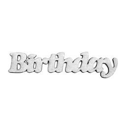 Aplique Chipboard 6691 Birthday - 1 unidade