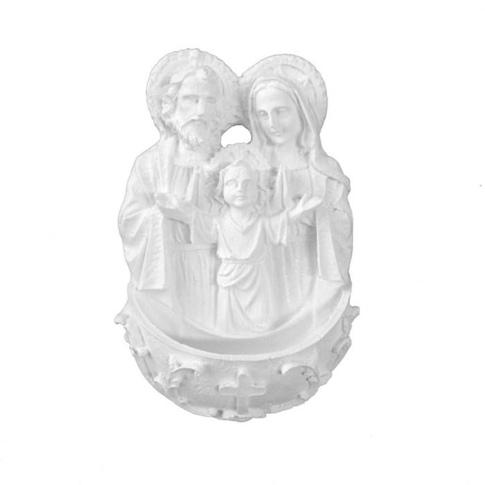 Aplique de Resina APR204 13x8cm - Sagrada Família - com 1 unidade