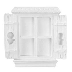 Aplique de Resina APR243 Janela Colonial 9,5x9,5cm - com 1 unidade