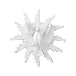 Aplique de Resina LLA182 Espírito Santo com Raio 19x19cm - com 1 unidade