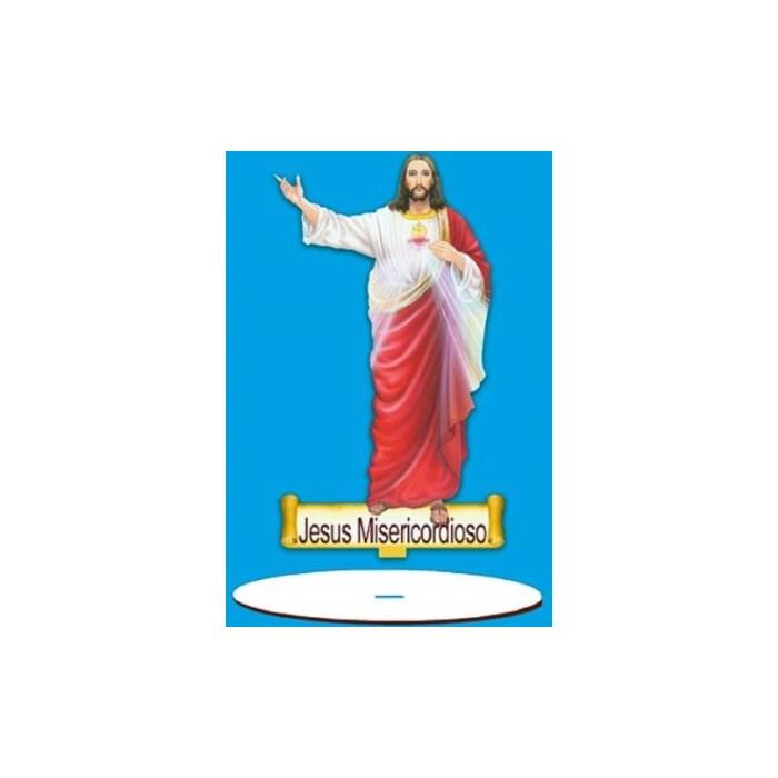 Aplique em Papel e MDF AMTB-018 - Jesus Misericordioso