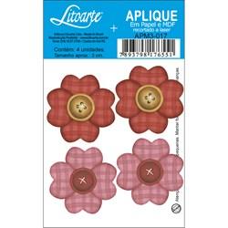 Aplique em Papel e MDF APM3-017 Flores