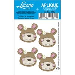Aplique em Papel e MDF APM3-092 Ursa