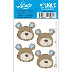 Aplique em Papel e MDF APM3-093 Urso