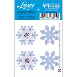 Aplique em Papel e MDF APM3-153 Floco de Neve