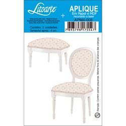 Aplique em Papel e MDF APM4-008 Cadeira