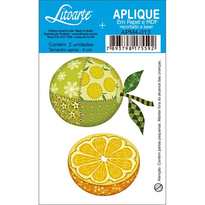 Aplique em Papel e MDF APM4-013 Limão