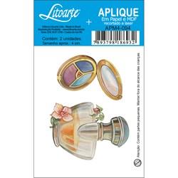 Aplique em Papel e MDF APM4-094 Perfumes e Sombras