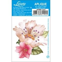 Aplique em Papel e MDF APM8-1231 Flor