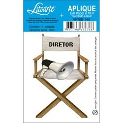 Aplique em Papel e MDF APM8-148 Cadeira do Diretor