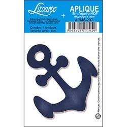 Aplique em Papel e MDF APM8-207 Âncora Azul