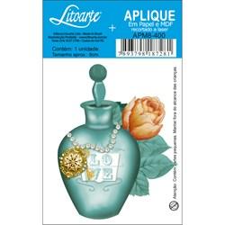 Aplique em Papel e MDF APM8-400 Perfume Verde
