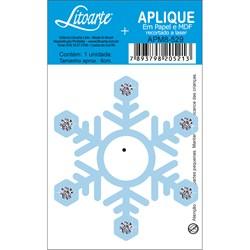 Aplique em Papel e MDF APM8-529 Floco de Neve