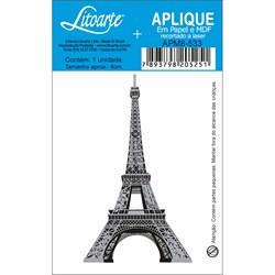 Aplique em Papel e MDF APM8-533 Torre Eiffel Prata
