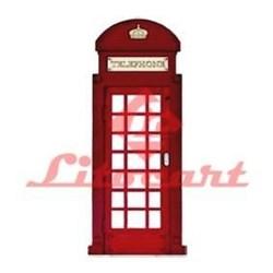 Aplique em Papel e MDF LMAPC-011 Telephone