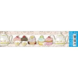 Barra Adesiva Litoarte BDA-IV-393 Cupcake