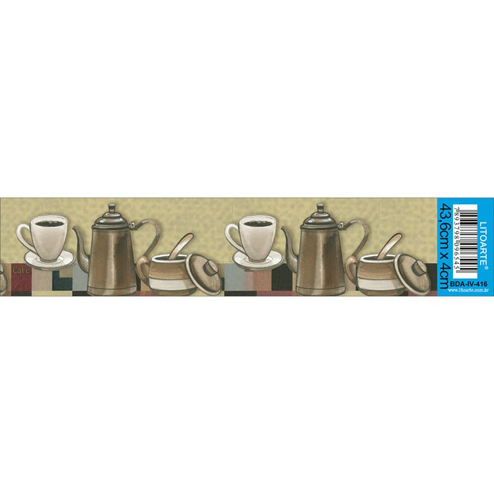 Barra Adesiva Litoarte BDA-IV-416 Chá